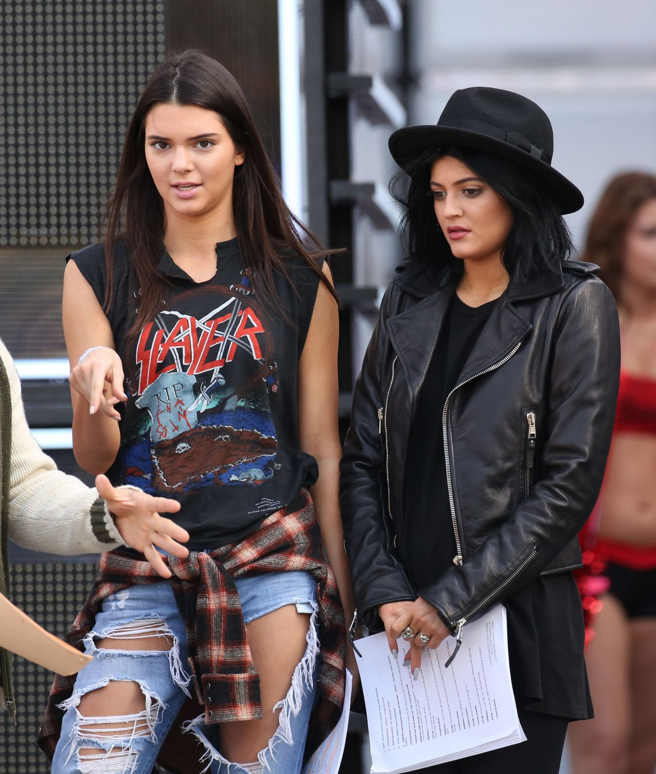 Kendall Jenner and Kylie Jenner – 2014 MuchMusic Video Awards Rehearsal in Toronto