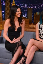 Kendall Jenner & Kylie Jenner - The Tonight Show With Jimmy Fallon - June 2014