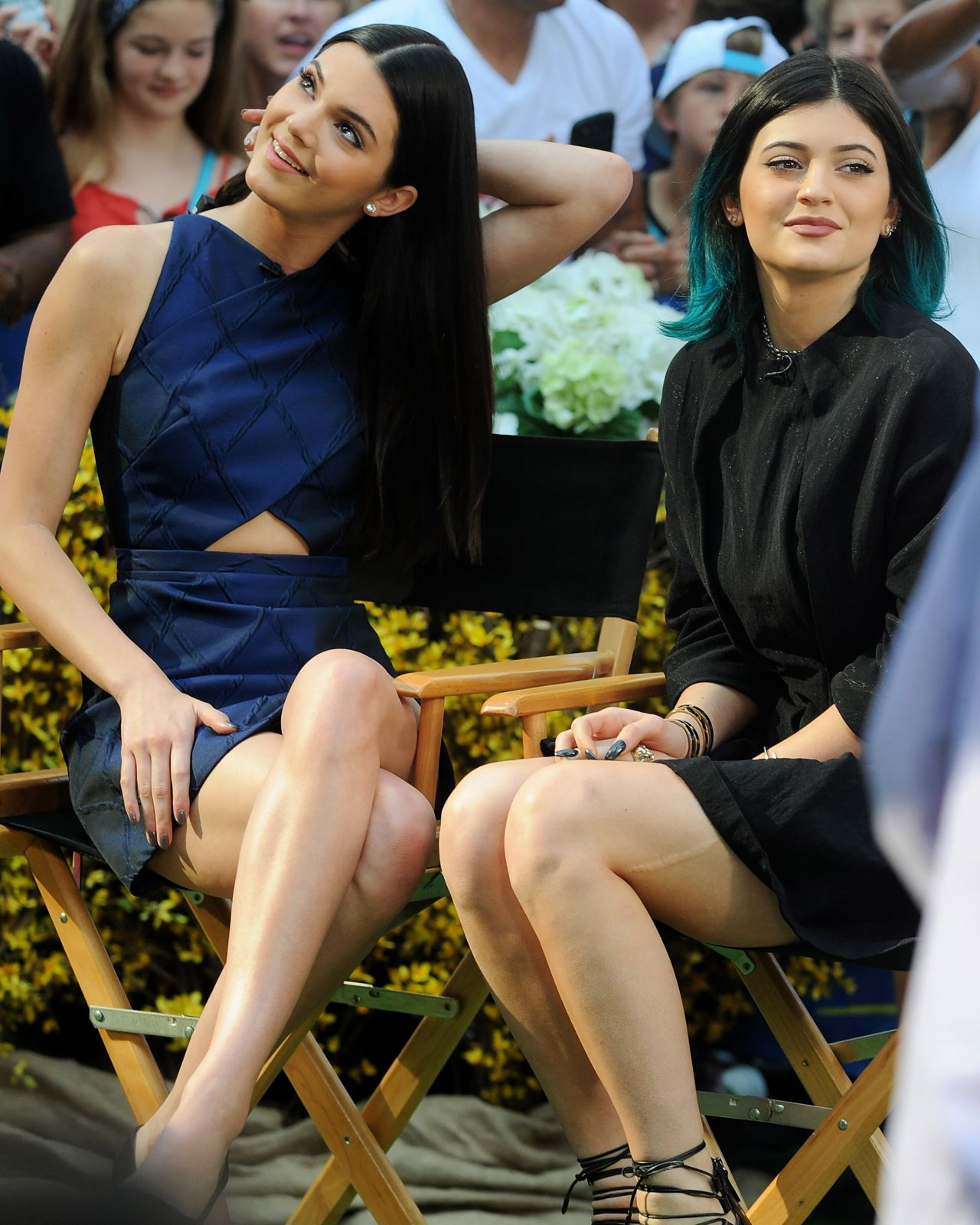 Kendall And Kylie Jenner Confessions: Kendall & Kylie Jenner At Good Morning America Studio In