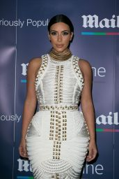 Kim Kardashian at MailOnLine Boat Party in Cannes (France) - June 2014