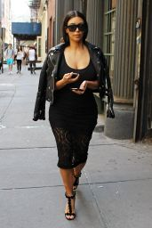 Kim Kardashian - Out in New York City - June 2014