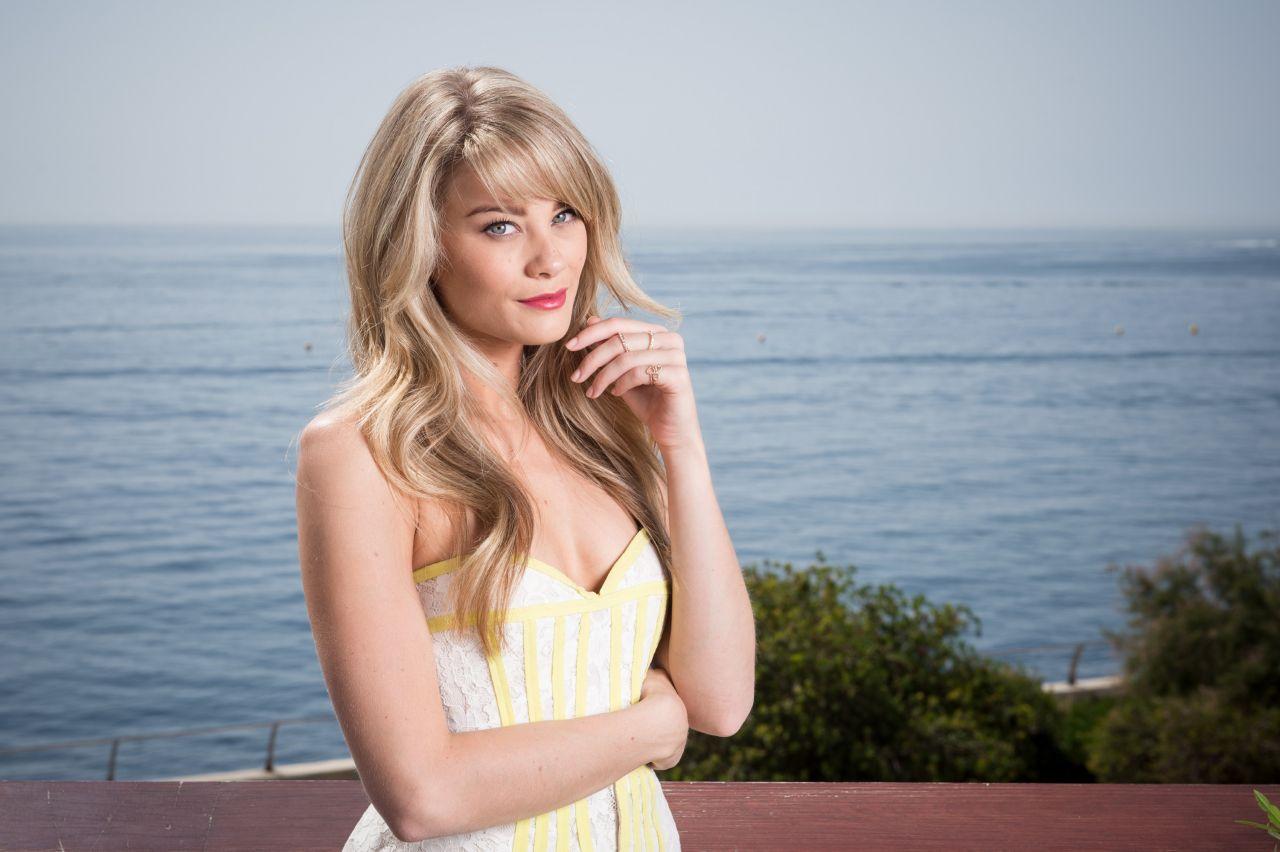 Kim Matula Photoshoot - 2014 Monte Carlo TV Festival