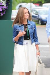Kim Sears - 2014 Wimbledon Championships – Day Five
