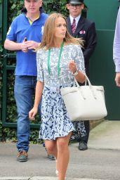 Kim Sears – Wimbledon Tennis Championships 2014 – Andy Murray v Blaz Rola