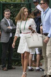 Kim Sears – Wimbledon Tennis Championships 2014