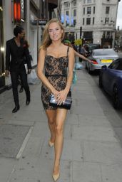 Kimberley Garner in Mini Dress – Velsvoir Presentation Party in London - June 2014