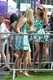 Kimberley Garner Out in Park in London - June 2014