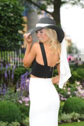 Kimberley Garner - Royal Ascot Day 3 at Ascot Racecourse - June 2014