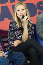 Kristen Bell at 2014 CMT Music Awards Press Conference in Nashville