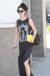 Krysten Ritter Booty in Black - Out in Los Angeles - June 2014