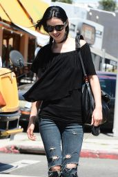 Krysten Ritter In Ripped Jeans - Out in Los Angeles - June 2014