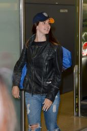 Lana Del Rey at Tegel Airport in Berlin (Germany) - June 2014