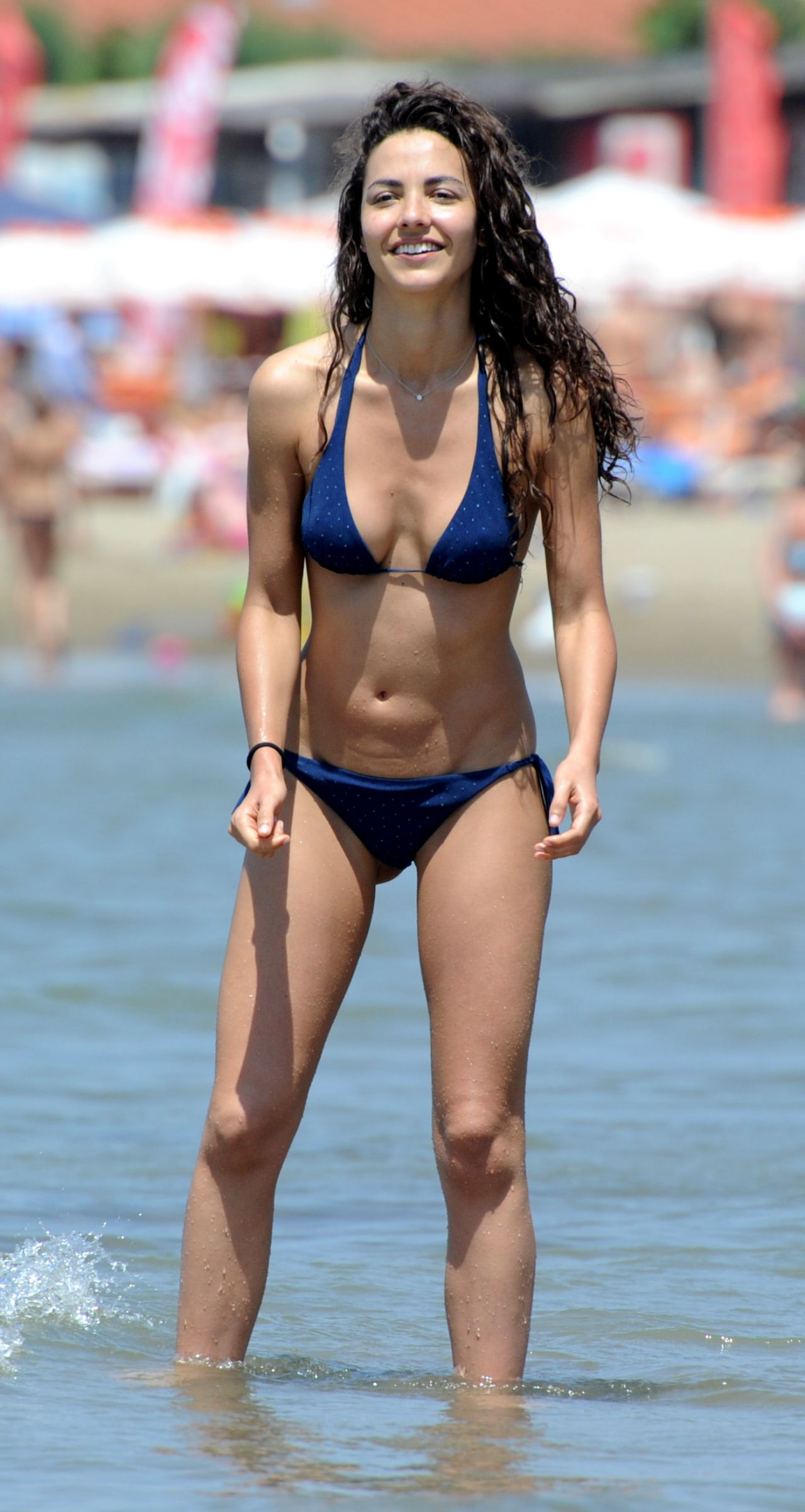 Laura June On 2014 Barriales Beach A The In Bikini Yby7gf6