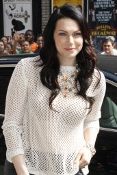 Laura Prepon at The Late Show with David Letterman in New York City - June 2014