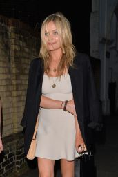 Laura Whitmore in Mini Dress - Out in London, June 2014