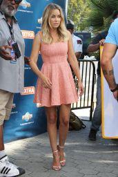 Lauren Conrad in Mini Dress - On the Set of