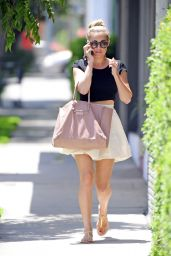 Lauren Conrad Shows Off Her Legs - Out in West Hollywood - June 2014