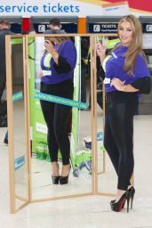 Lauren Goodger - Launches Samaritans
