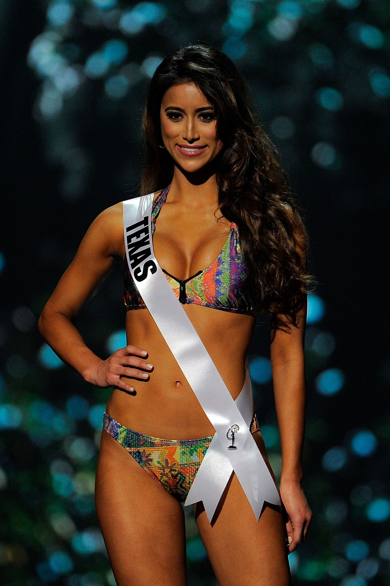 Lauren Guzman (Texas) - Miss USA Preliminary Competition - June 2014