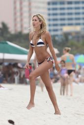 Lauren Stoner Wearing a Bikini in Miami - June 2014