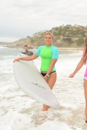 Lea Michele – Oakley Learn to Ride-Surf in Cabo San Lucas – June 2014