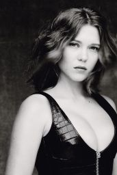 Lea Seydoux Photoshoot for M Le Monde - May 2014