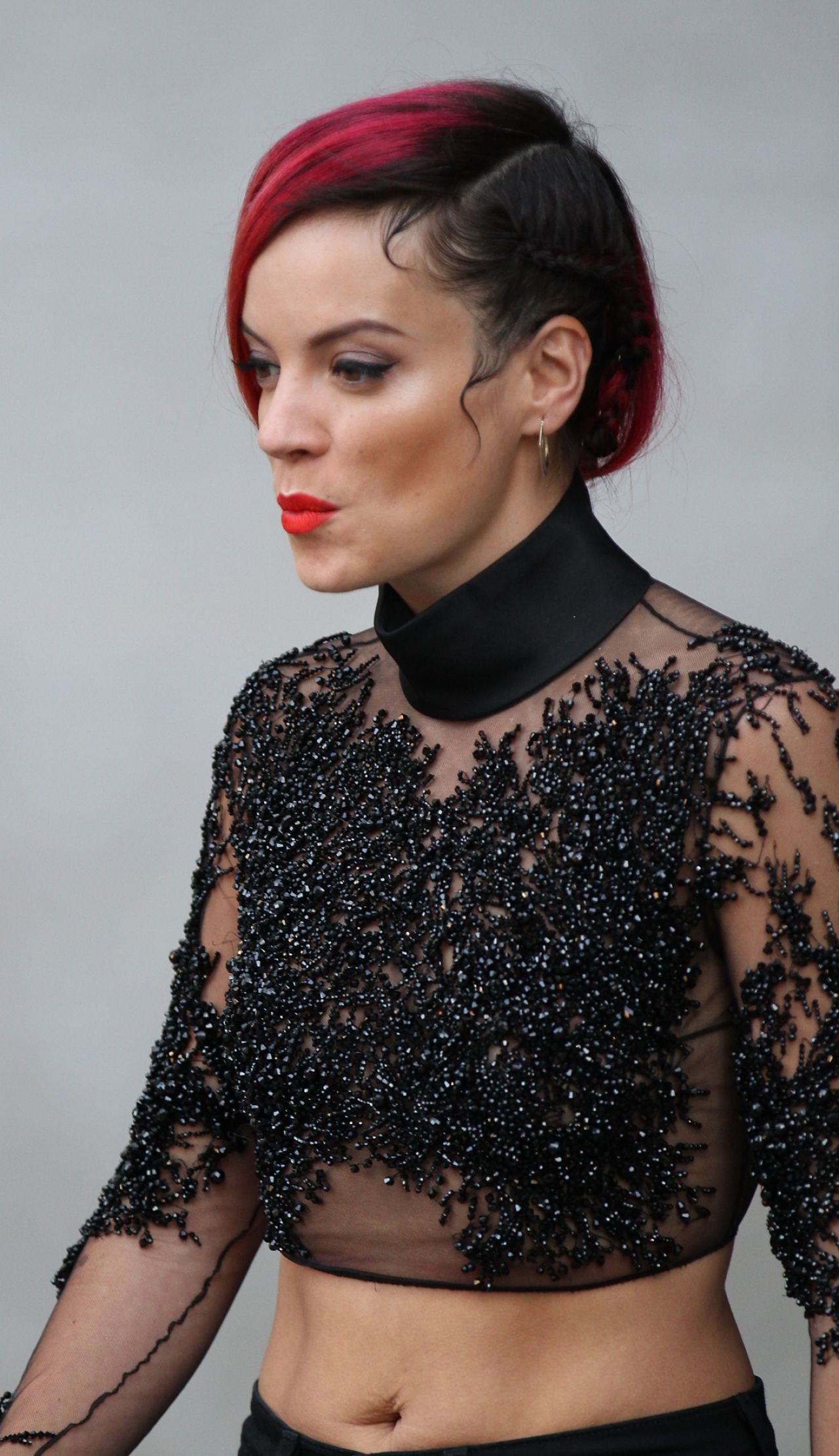 Lily Allen at the BBC Radio ONE Studios in London - June 2014 Lily Allen