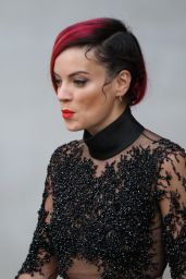 Lily Allen at the BBC Radio ONE Studios in London - June 2014