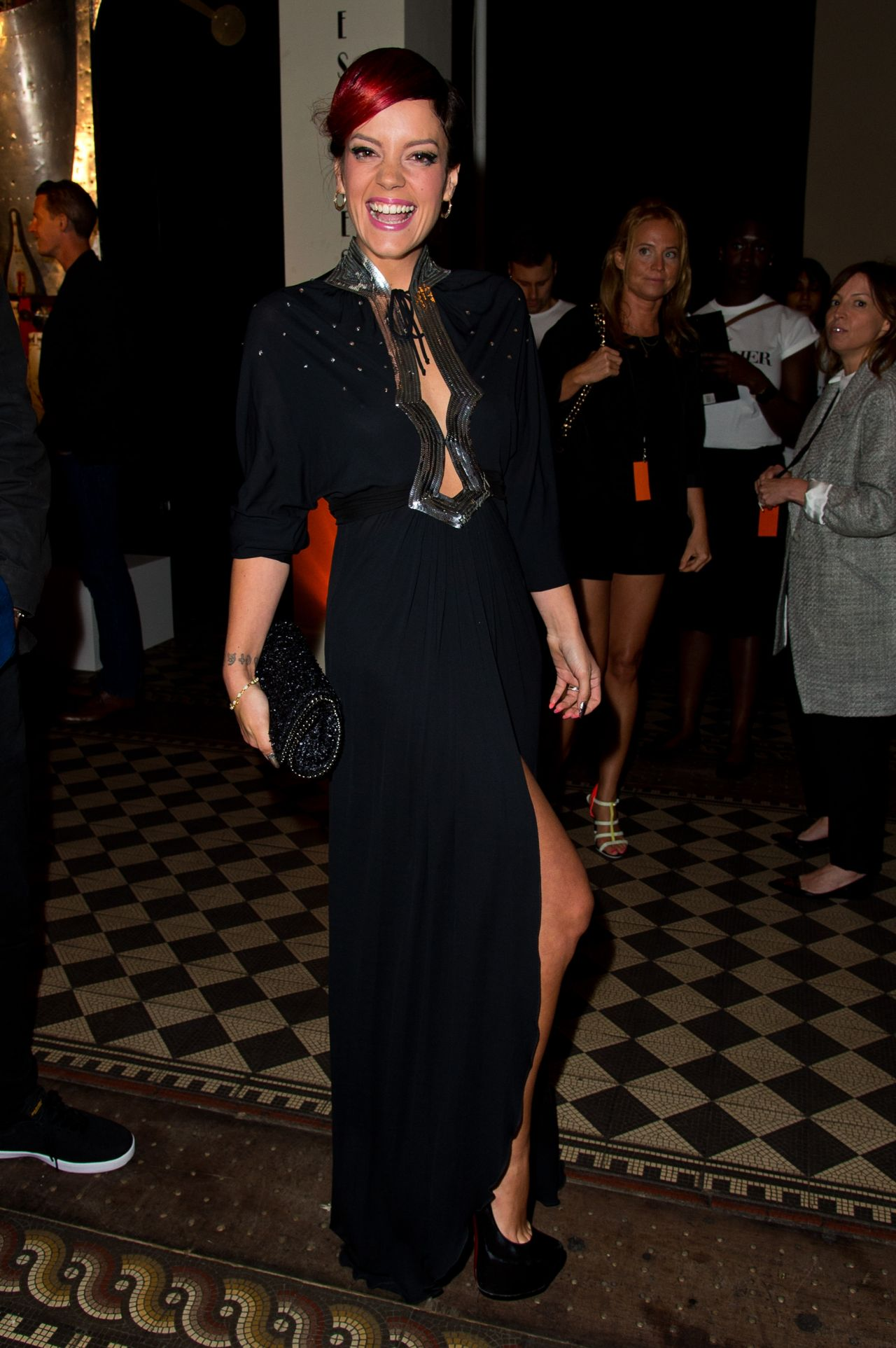 Lily Allen Attends The Other Ball - June 2014