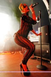 Lily Allen in Catsuit Live at Mojo Club in Hamburg Germany - May 2014