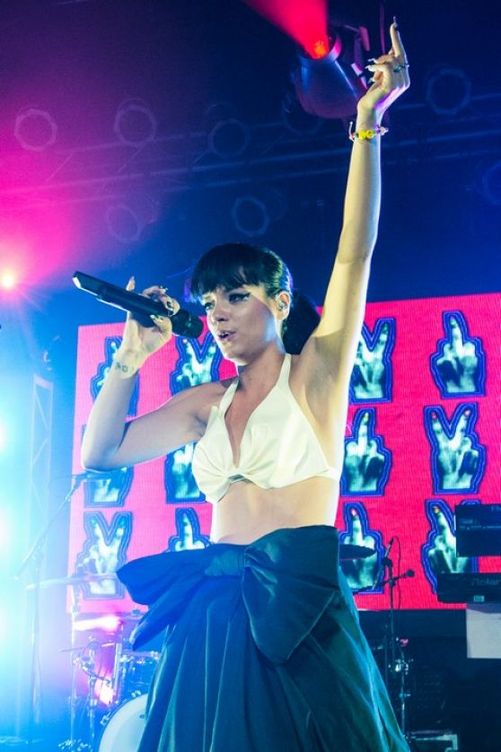 Lily Allen - Live Highline Ballroom - New York City, May 2014 Lily Allen