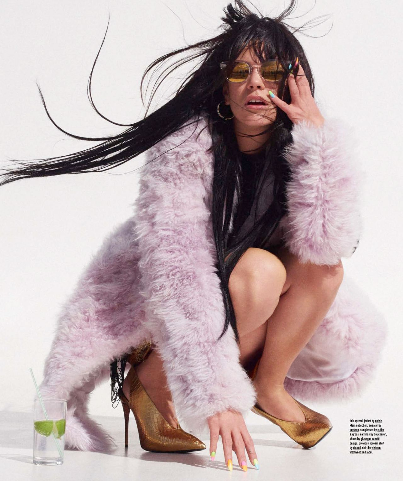 Lily Allen - Nylon Magazine June/July 2014 Issue