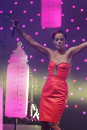 Lily Allen Performs at 2014 Indian Summer Festival in the Netherlands