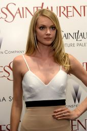 Lindsay Ellingson – 'Yves Saint Laurent' Premiere in New York City