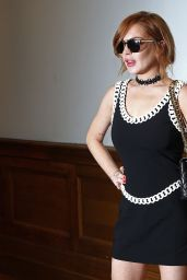 Lindsay Lohan - Moschino Fashion Show - June 2014
