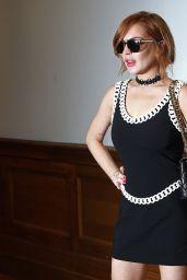 Lindsay Lohan - Moschino Fashion Show - June 2014