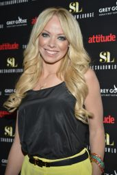 Liz McClarnon - The Shadow Lounge VIP Launch in London - May 2014
