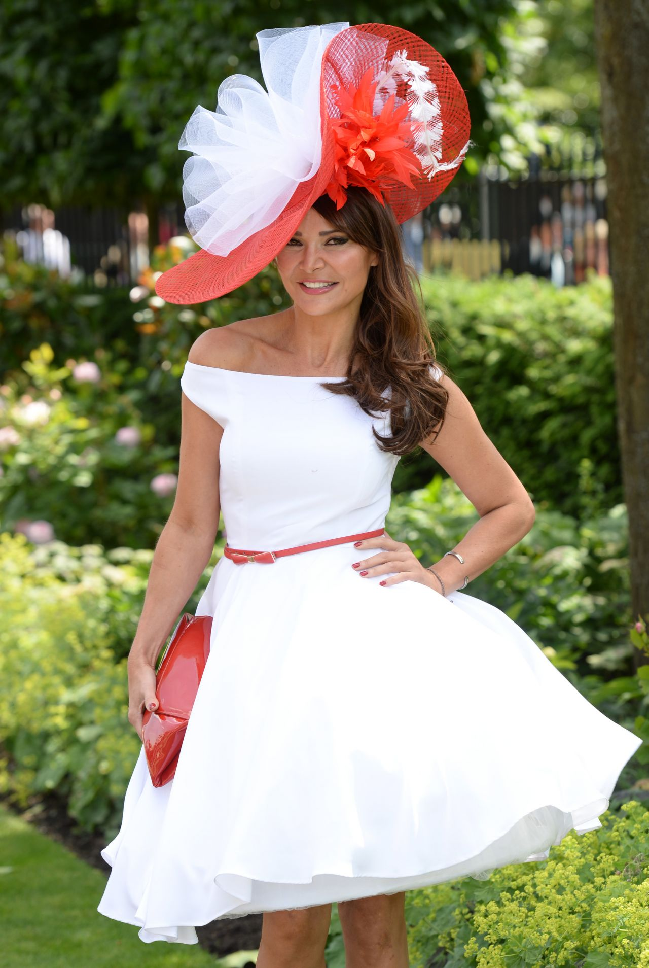 Lizzie Cundy – Day 1 of Royal Ascot at Ascot Racecourse – June 2014