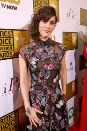 Lizzy Caplan – 2014 Critics Choice Television Awards in Beverly Hills
