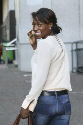 Lorraine Pascale - ITV Studios, June 2014