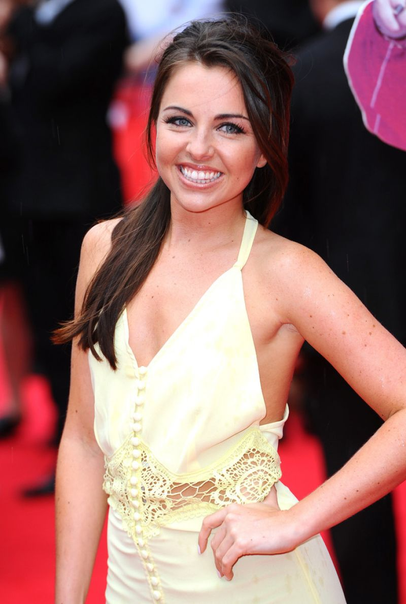Louisa Lytton The Hooligan Factory Premiere In London
