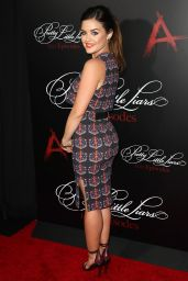 Lucy Hale at 'Pretty Little Liars' 100th Episode Celebration in Hollywood