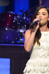 Lucy Hale Performs at The Grand Ole Opry in Nashville - June 2014