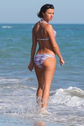 Lucy Mecklenburgh Bikini Photos - Beach in Italy - June 2014