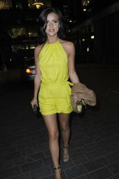 Lucy Mecklenburgh Night Out Style – Manchester, June 2014