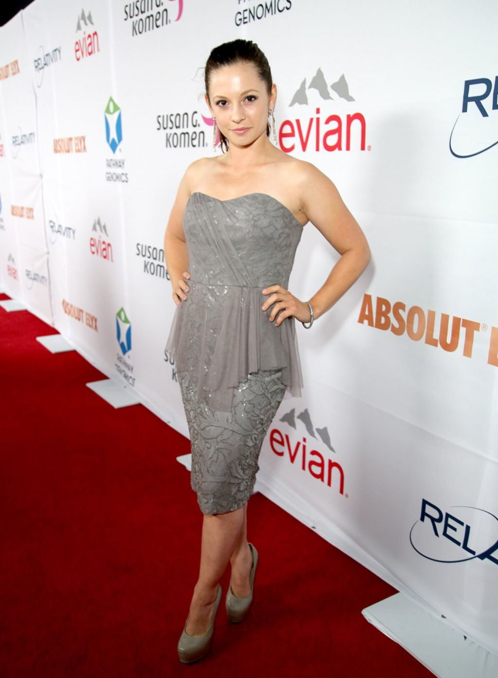 Mackenzie Rosman - Pathway To The Cure Fundraiser Benefit in Santa Monica - June 2014