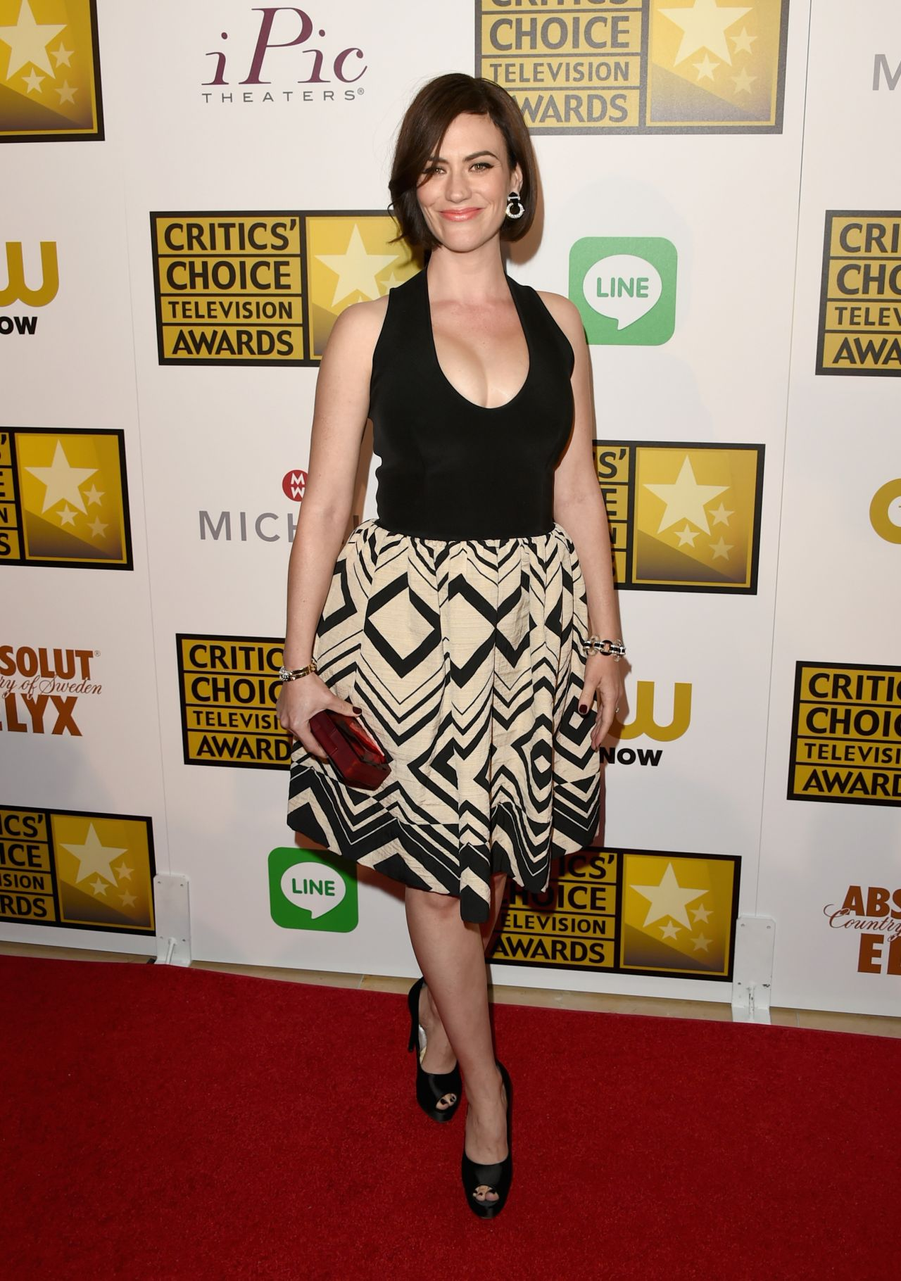 Maggie Siff 2014 Critics Choice Television Awards In