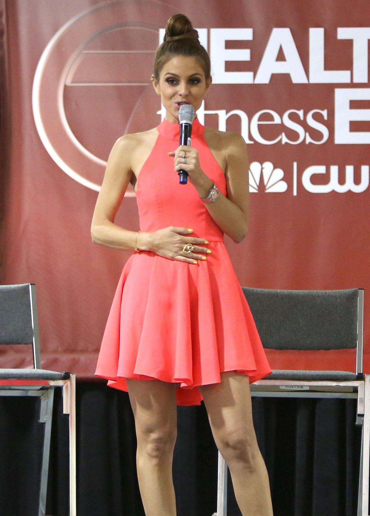 Maria Menounos 2014 Health Amp Fitness Expo In Boston
