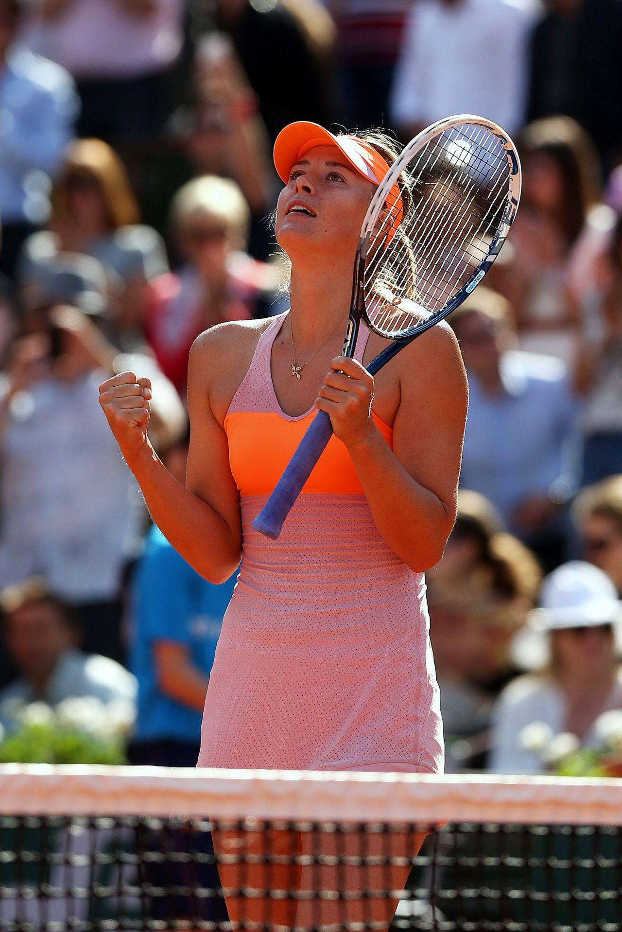 Maria Sharapova – 2014 French Open at Roland Garros ...