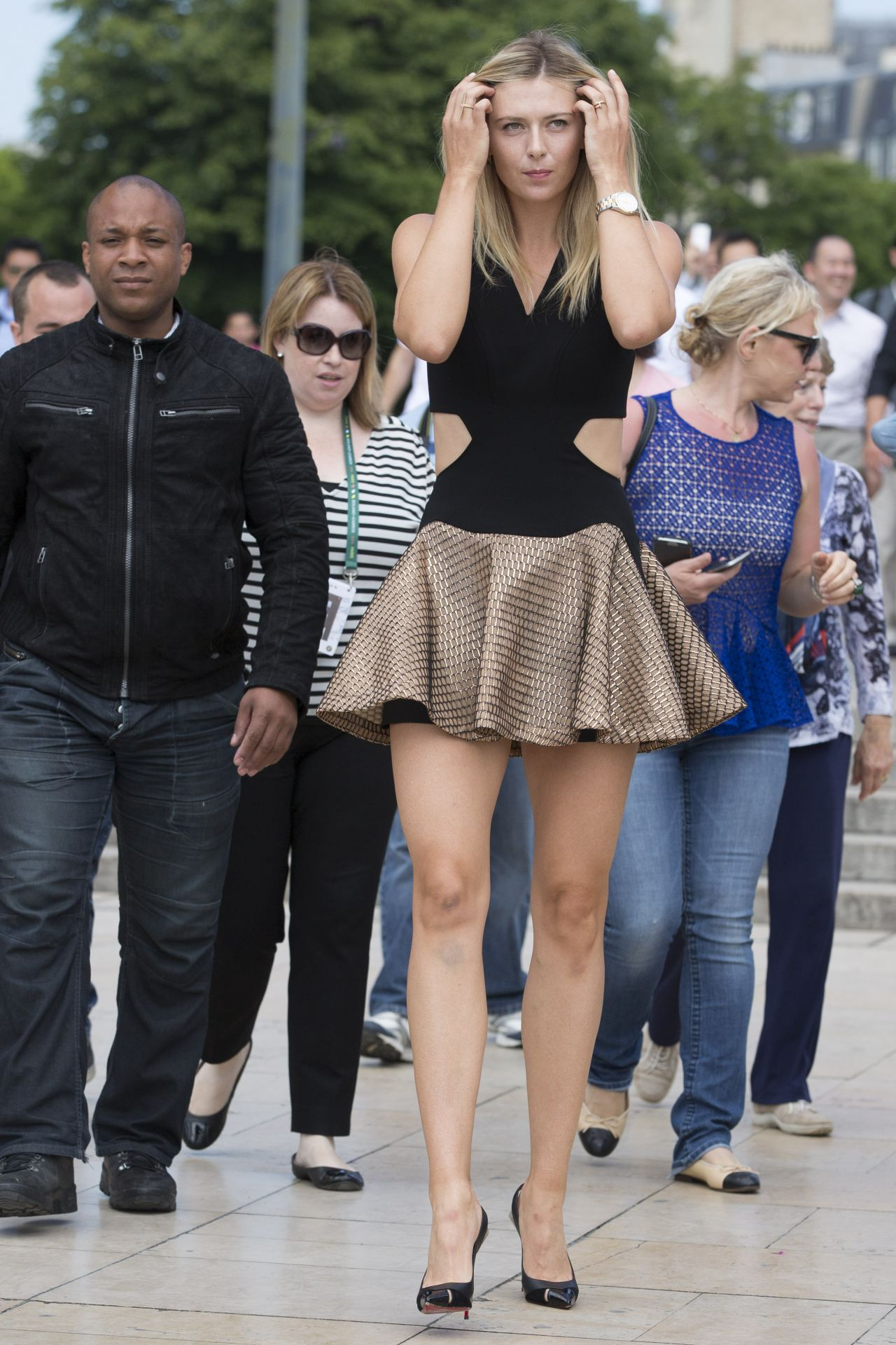 Maria Sharapova – 2014 French Open at Roland Garros – Trophy Photoshoot in Paris